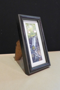 Mini painting framed small