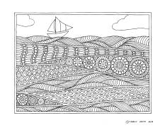 Setting Sail drawing