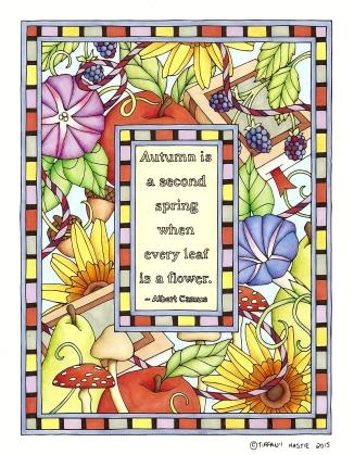 Autumn Quote Enhanced