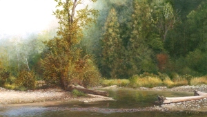 Autumn Morning (4 x 2.25 inches)