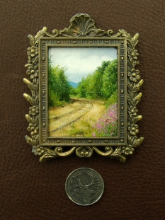 Country Days II (1.5 x 2 inches)