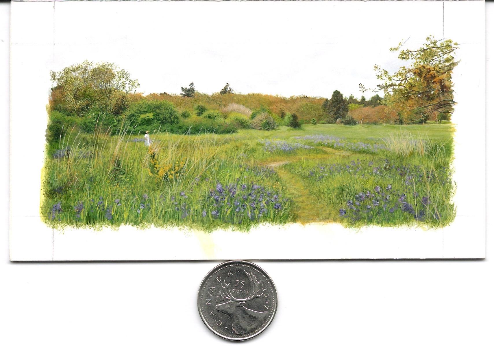 Walk Through the Park (2 x 4.5 inches) Quarter