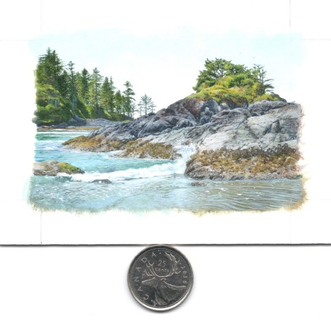 Miniature painting scale (2.25 x 3.5 inches in size)