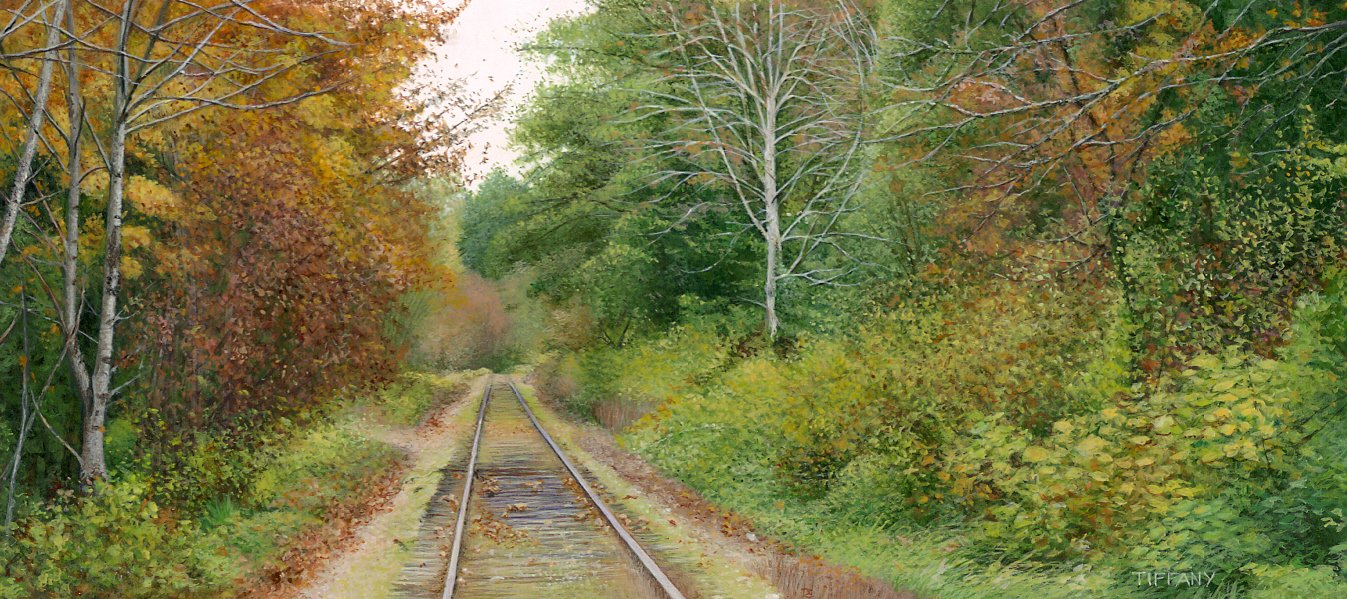 Along the Tracks II (2 x 4.5 inches)