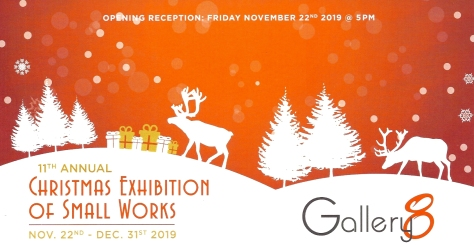 Gallery 8 Christmas Exhibition of Small Works
